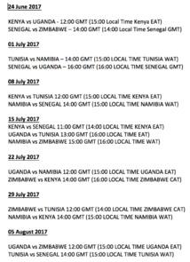 Le programme 2017 des Lions