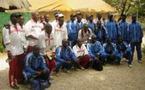 Sapeurs Pompiers et Gendarmes en formation pour entrer dans la mêlée du rugby sénégalais
