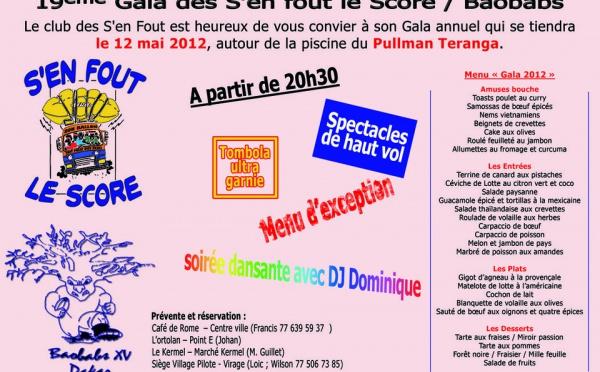 19ème Gala des S'en-Fout-le-Score / Baobabs